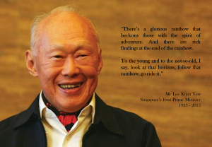 Mr Lee Kuan Yew
