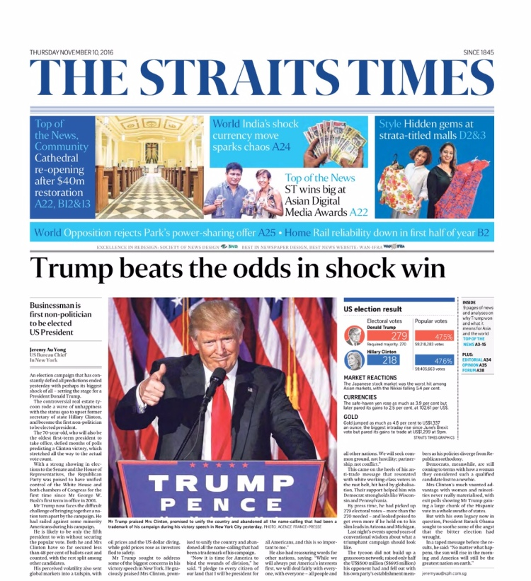 straits-times-l-trump-beats-the-odds-in-shock-win